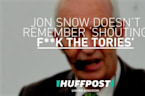 Jon Snow 'Has No Recollection' Of 'Shouting F**k The Tories' At Glastonbury