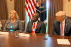 Trump meets with 'immigration crime victims'