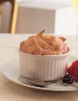 Hot Berry Soufflés