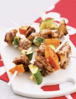 Chicken & Vegetable Skewers