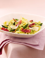 Asparagus & Bacon Farfalle