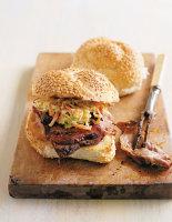 Barbecued Pork Sandwich