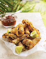 Chargrilled Squid with Chilli Jam