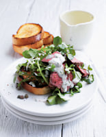 Beef Salad with Mustard Dressing