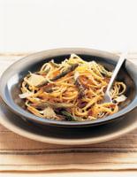 Asparagus & Anchovy Spaghetti