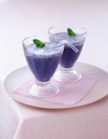 Blueberry & Mint Smoothie