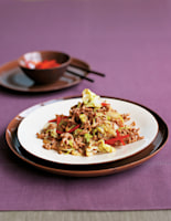 Pork & Chinese Leaves with Chilli