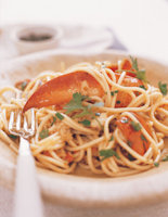 Lobster Sauce with Spaghetti