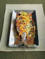 Steamed Citrus Sea Bass