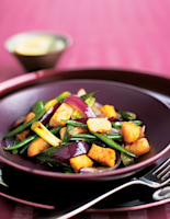 Tofu & Vegetables in Oyster Sauce
