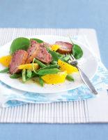 Duck, Clementine & Tatsoi Salad