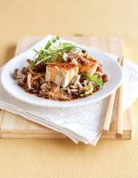Marinated Tofu & Mushroom Salad