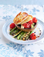Grilled Vegetable & Haloumi Salad