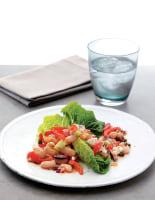 White Bean, Feta & Pepper Salad