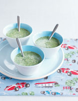 Bean, Coconut & Spinach Soup