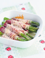 Asparagus in Blankets
