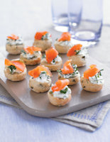 Rosemary Scones & Smoked Trout
