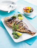 Thai Red Snapper with Mango Salsa