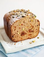 Pistachio Loaf with Tropical Fruits