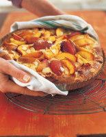 Nectarine & Marzipan Fruit Kuchen