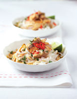Burmese Chicken Noodle Curry