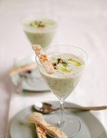 Yogurt, Walnut & Cucumber Soup