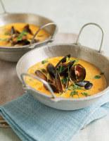 Oriental Mussel Soup