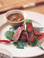 Grilled Beef with Spicy Sauce