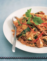 Rice Curry with Mixed Vegetables