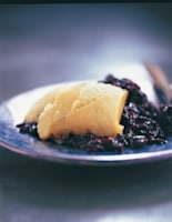 Black Sticky Rice & Egg Custard