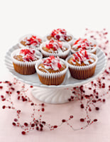 Mini Iced Gingerbread Cakes