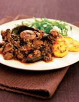 Mixed Mushroom & Lentil Braise