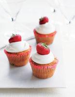 Strawberry Marguerita Cupcakes