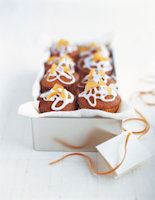 Snow-Covered Ginger Buns