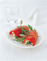 Red Pepper & Feta Rolls with Olives