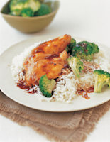 Chicken Fillets with Soy Glaze