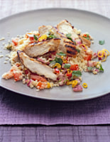 Chargrilled Chicken with Salsa