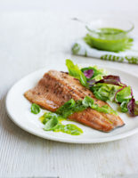 Trout with Pesto