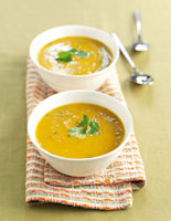 Thai Coconut & Pumpkin Soup