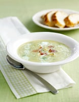 Leek, Potato & Stilton Soup