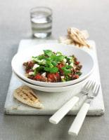 Warm Lentil & Feta Salad