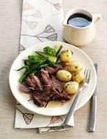 Pot Roast Lamb with Rosemary