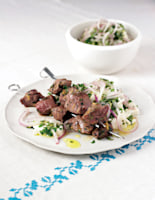 Taverna-Style Grilled Lamb with Feta