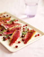 Red Mullet with Pomegranate