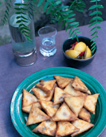 Fried Pastries with Goats' Cheese