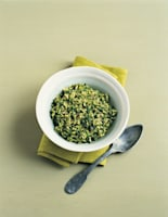 Spiced Spinach & Mint Pilaf