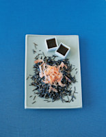 Wild Rice Salad with Smoked Salmon