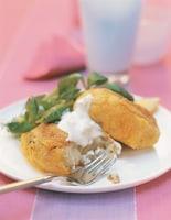 Fish Cakes & Fennel Mayonnaise