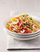 Prawns with Sesame Noodles