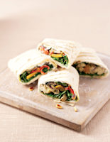 Vegetable & Cheese Wrap